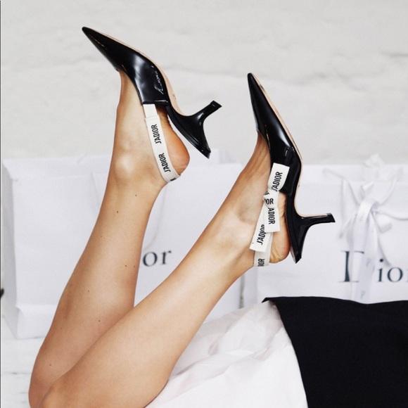 Dior Shoes | Christian Dior Black Jdior
